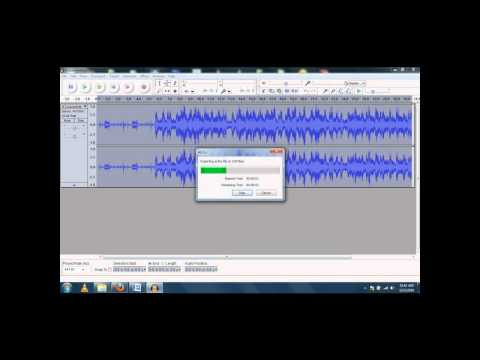 Audacity Tutorial (Echo/Change Speed Effects)