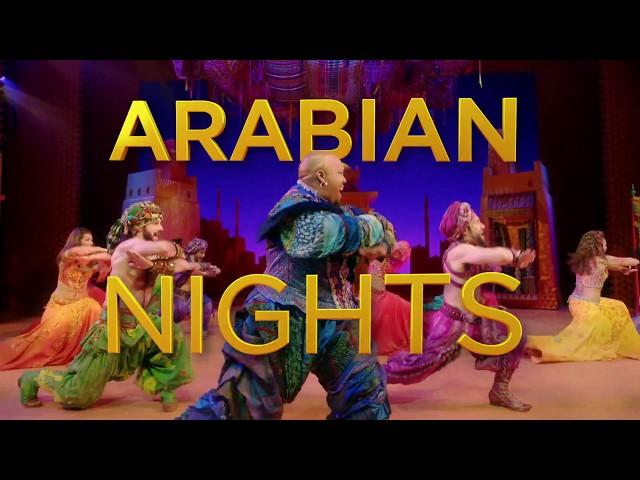 """Arabian Nights"" from ALADDIN on Broadway (Lyric Clip)"