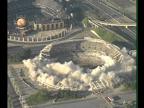 Atlanta Fulton County Stadium Implosion August 2, 1997 Fox 5 News WAGA-TV Atlanta