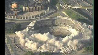 Atlanta Fulton County Stadium Implosion August 2, 1997 Fox 5 News WAGA-TV Atlanta