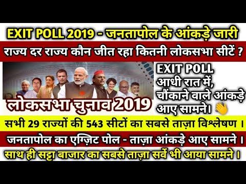 #EXITPOLL #2019 लोकसभा | जनतापोल के आंकड़े हुए जारी,543 सीटों का आंकलन, मोदी लहर बरकरार !