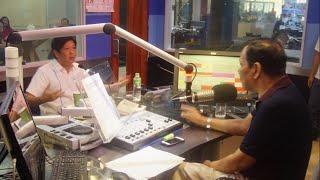Sen. Bongbong Marcos - Interview with Joe Taruc of DZRH