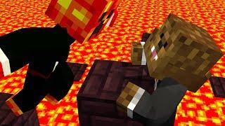 Minecraft: TAG TEAM PARKOUR! - w/Preston & Friends!