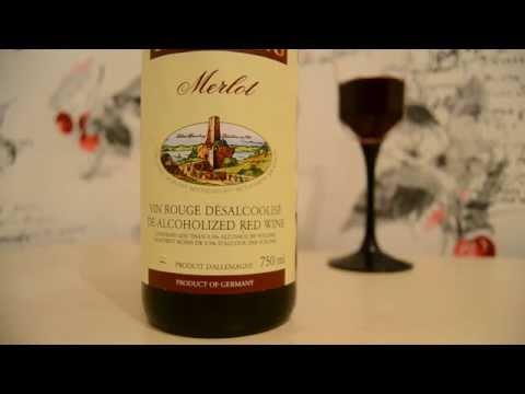 Безалкогольное красное сухое вино Мерло