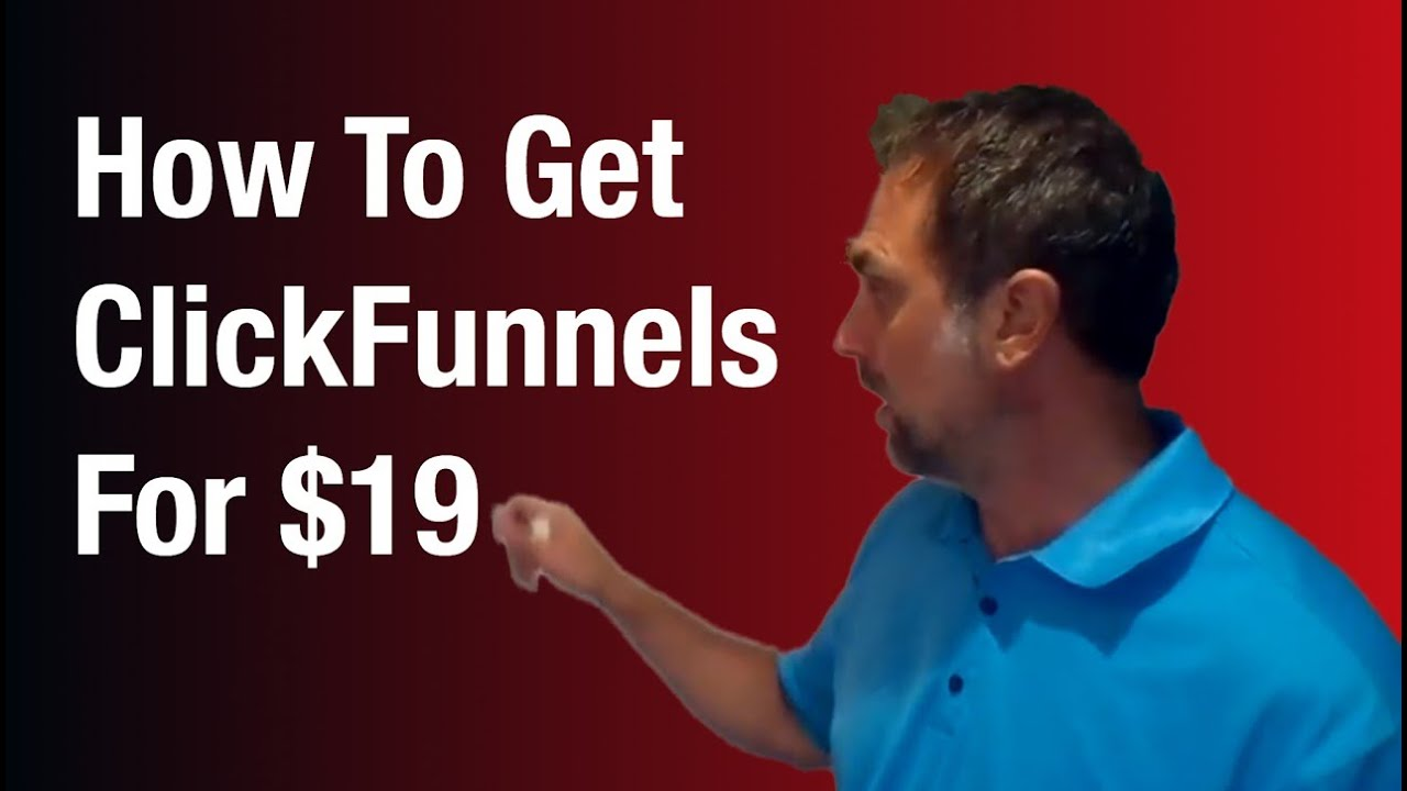 Clickfunnels Pricing | How To Get ClickFunnels For $19/month