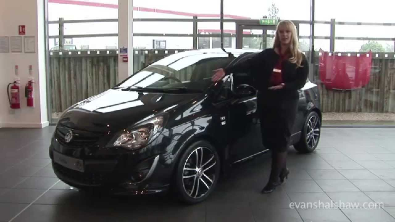 vauxhall corsa black edition review youtube. Black Bedroom Furniture Sets. Home Design Ideas