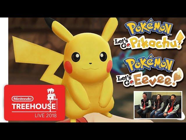 Pokemon: Let's Go, Pikachu! и Let's Go, Eevee! (видео)
