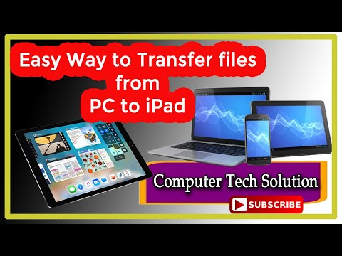 Easy Way To Transfer Files From PC To IPad