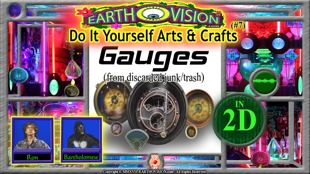 How to make steampunk gauges from junktrashin 2ddo it yourself how to make steampunk gauges from junktrashin 2ddo it yourself arts crafts solutioingenieria Images