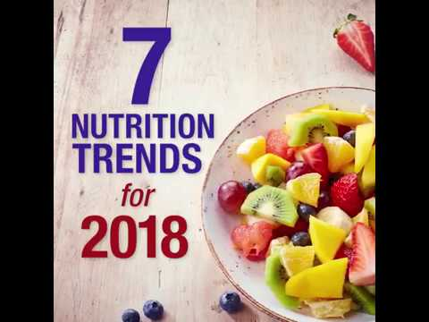 7 Nutrition Trends for 2018