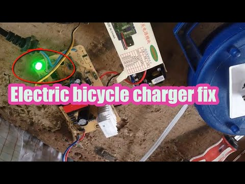 Electric bicycle charger fix, Repair a 24-Volt Electric Charger electric bicycle charger broken thumbnail