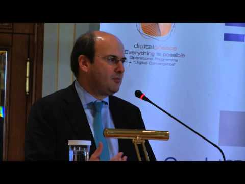 Kostis Hatzidakis, Minister of Development & Competitiveness