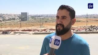 تساؤلات حول تقطع العمل في تقاطع مرج الحمام (12/9/2019)