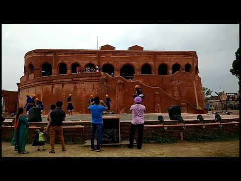 Gatka Performance at Historical Place Gobindgarh Fort, Amritsar
