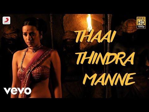 Aayirathil Oruvan  Thaai Thindra Mannae Lyric  Karthi  GV Prakash