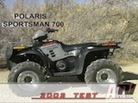 2002 Polaris Sportsman 700 >> Atv Television 2002 Polaris Sportsman 700 Test Youtube