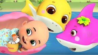 Baby Shark Doo Doo Doo | +more nursery rhymes and baby songs by Jugnu kids