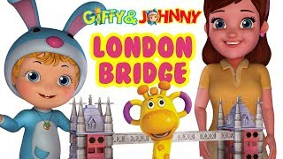 London Bridge Is Falling Down | Nursery Rhymes | Infobells