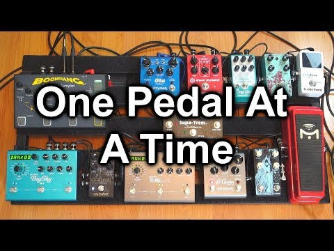 One Pedal At A Time