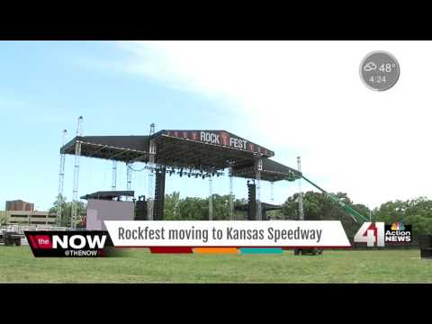 Rockfest announces lineup, move to KS Speedway