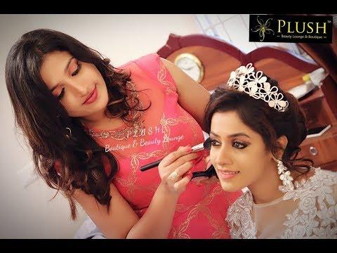 Christian Bridal Makeup @PLUSH Boutique & Beauty Lounge By Celebrity Santhoshi