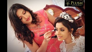 Christian Bridal Makeup @PLUSH Boutique & Beauty Lounge By Celebrity Santhoshi