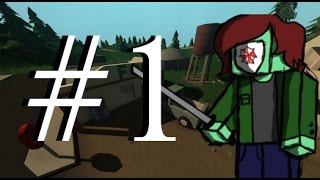 The 'Unturned' Experience [Part 1] - Roblox meets DayZ