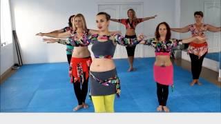 Восточные танцы  Видео урок 2  Backstage