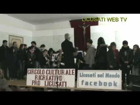 """L'Associazione Culturale """" PRO LICUSATI ' ha inagurato la scuola di Musica."""