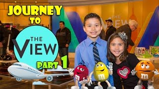 Journey to THE VIEW Part 1 - Visit to M&M