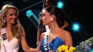 Miss Universe 2015 mistake