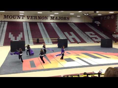 Strasburg High School Winter Guard: Overcome