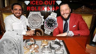 ICED OUT ROLEX & AUDEMARS PIGUET by Cologne Watch in KÖLN