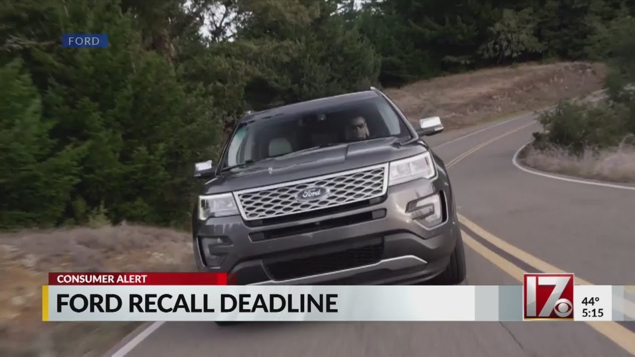Ford Explorer Carbon Monoxide Recall >> Deadline Nearing For Ford Explorer Owners To Use Free Fix For Carbon Monoxide Issues