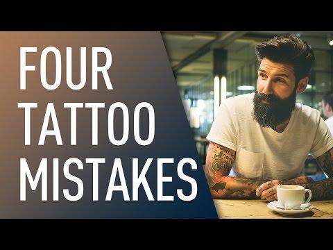 Four Biggest Tattoo Mistakes | Carlos Costa