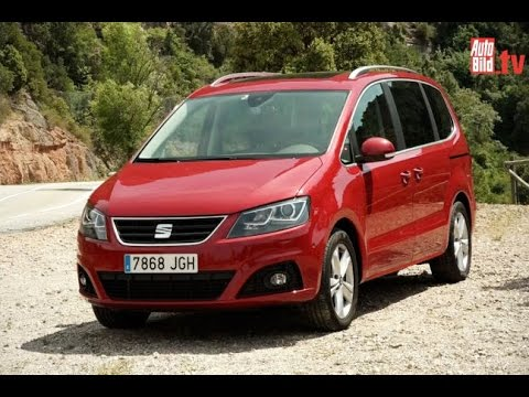 seat alhambra facelift 2015 youtube. Black Bedroom Furniture Sets. Home Design Ideas
