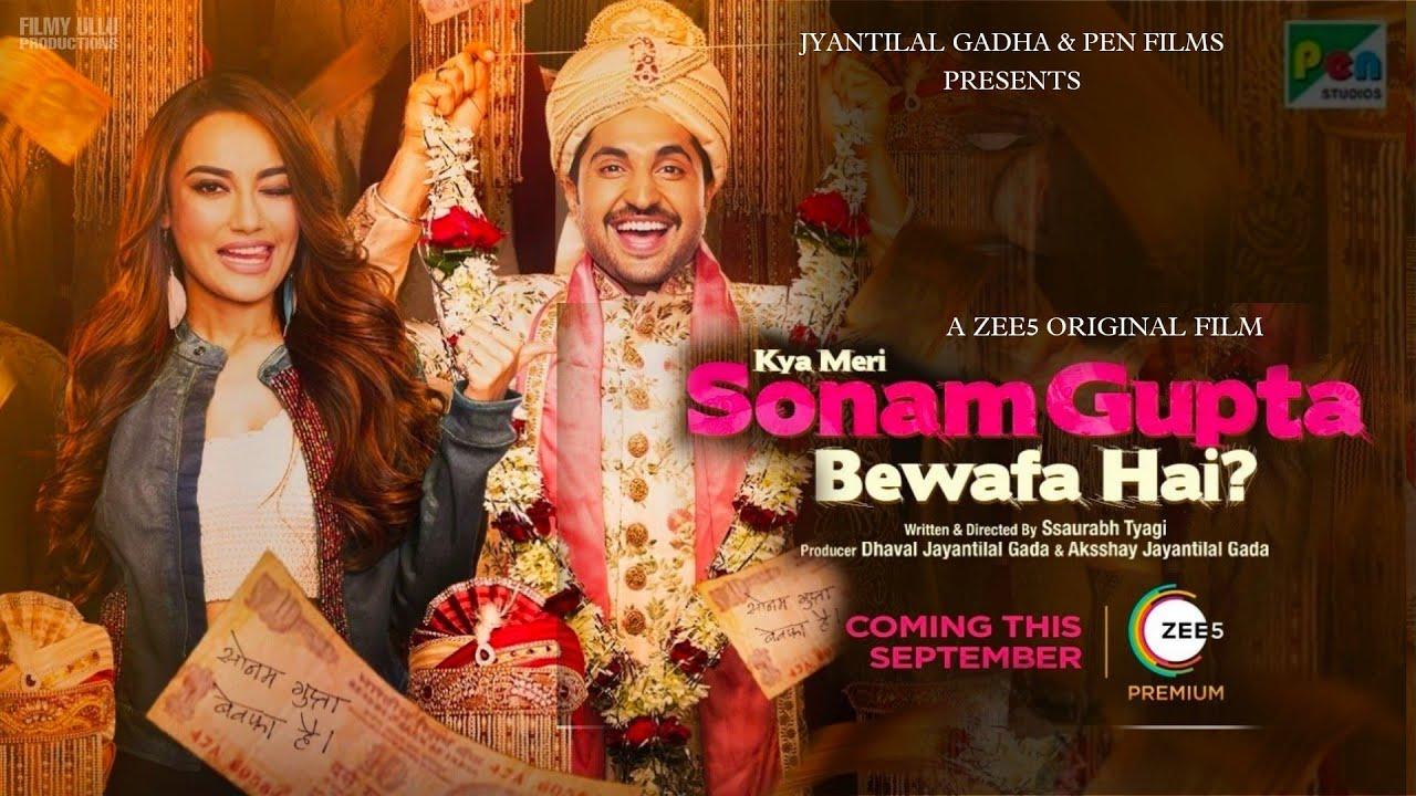 Kya Meri Sonam Gupta Bewafa 2021 banner HDMoviesFair