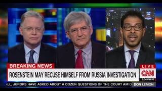 Rosenstein may recluse himself from Russia investigation  Don Lemon CNN