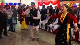 """Best Nepali Wedding Dance. नेपाली लोक दोहोरी गीत """"फूलमा भमरा"""""""