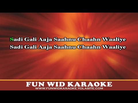 Saadi Galli Aaja Karaoke | Ayushmann Khurrana | Nautanki Saala | T-Series