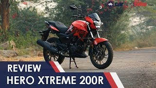 Hero Xtreme 200R Review | NDTV carandbike