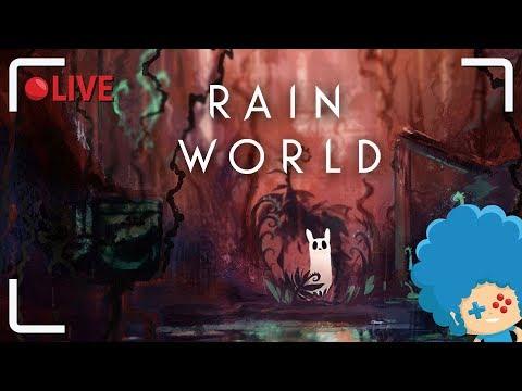 LIVE z Rain World - Kotoślimak Stefan walczy o przetrwanie