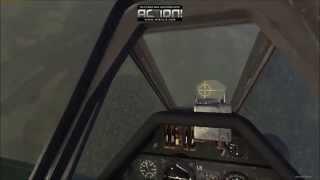 War Thunder Simulator Battle | Fw D9 vs Tempest MK II Energy Fight |