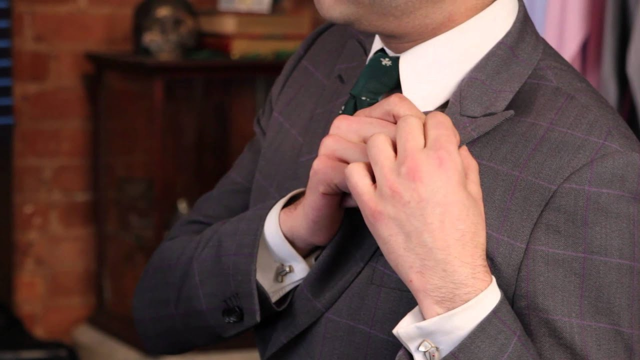 How to Recognize a Custom Suit : Suit to Fit!