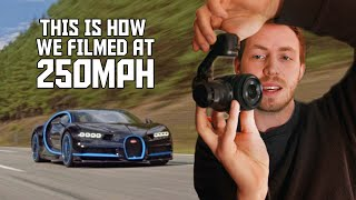 How we filmed a Bugatti Chiron at 250mph REVEALED