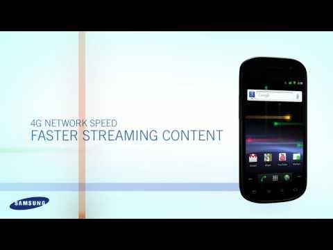 Samsung Nexus S 4G Phone from Google