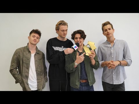 The Vamps celebrate their first UK Number 1 on the Official Albums Chart | Official Charts