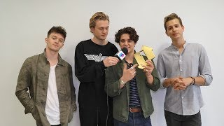 The Vamps knocked Ed Sheeran from the top spot with their third alb...