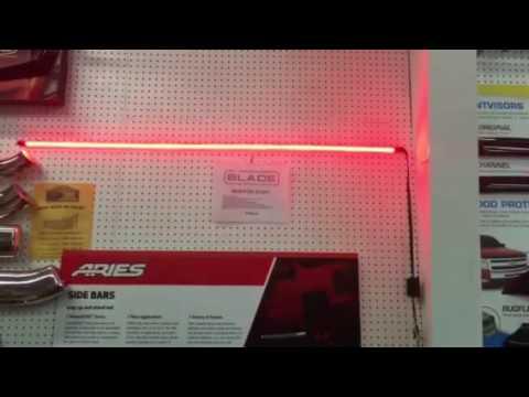 Putco Blade Light Bar Line Of Fire Led Tailgate Light Bar