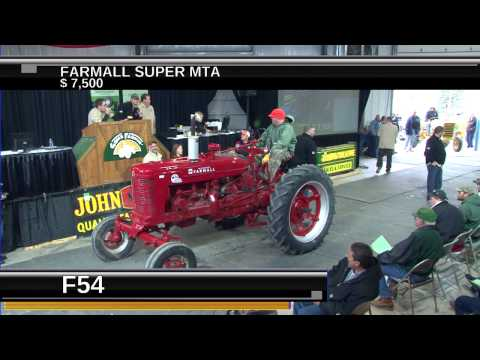 Gone Farmin Spring Tractor Auction - Show Three 2014
